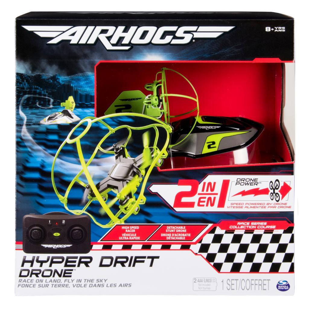 Features Air Hogs Hyper Drift Drone
