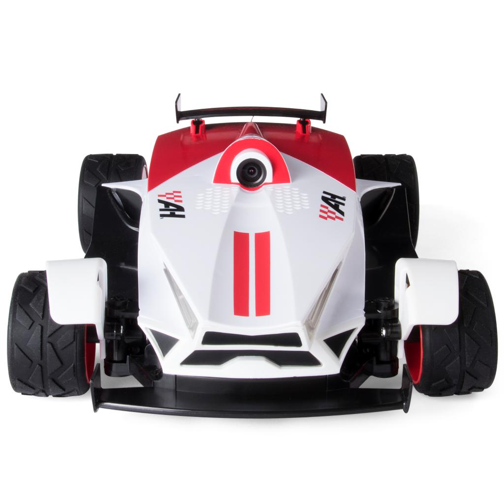 Experience The Thrill Of Race With A Livestream From Dashboard Camera Unique LED Light Features And Strong Treads This RC Vehicle Is Able