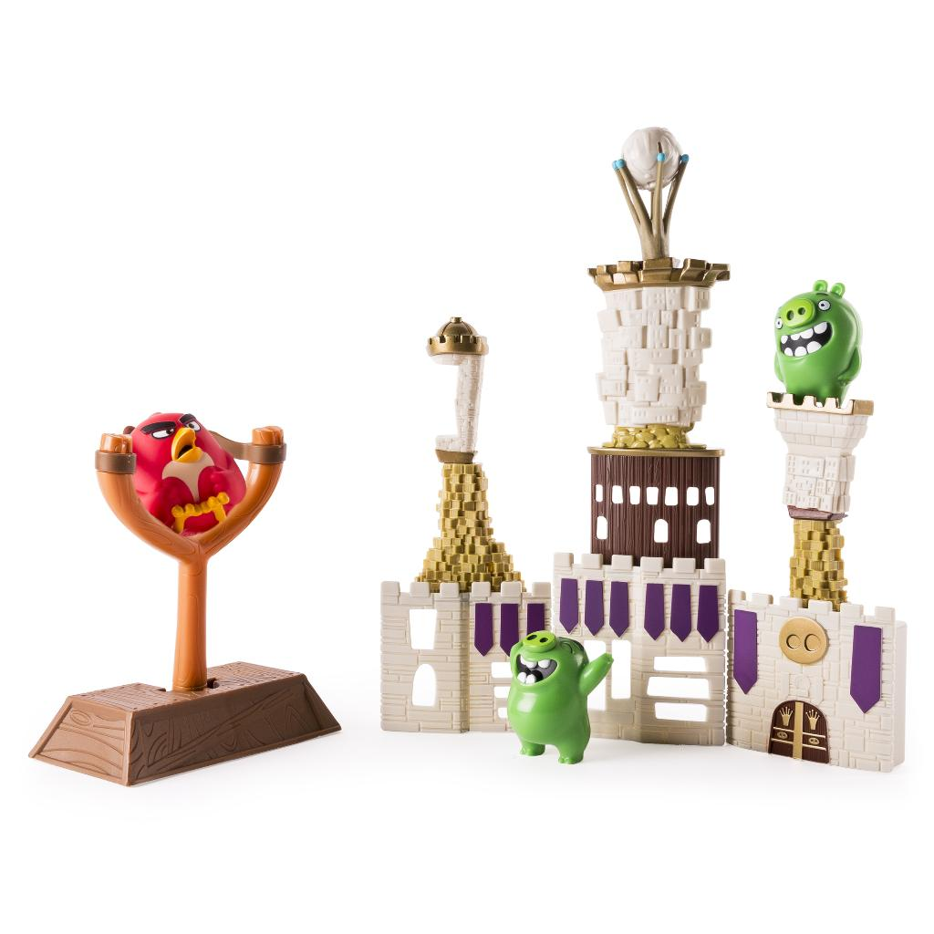 Spin Master Angry Birds Angry Birds Castle Attack Playset