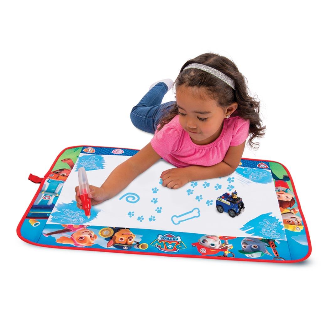 how to clean aquadoodle mat