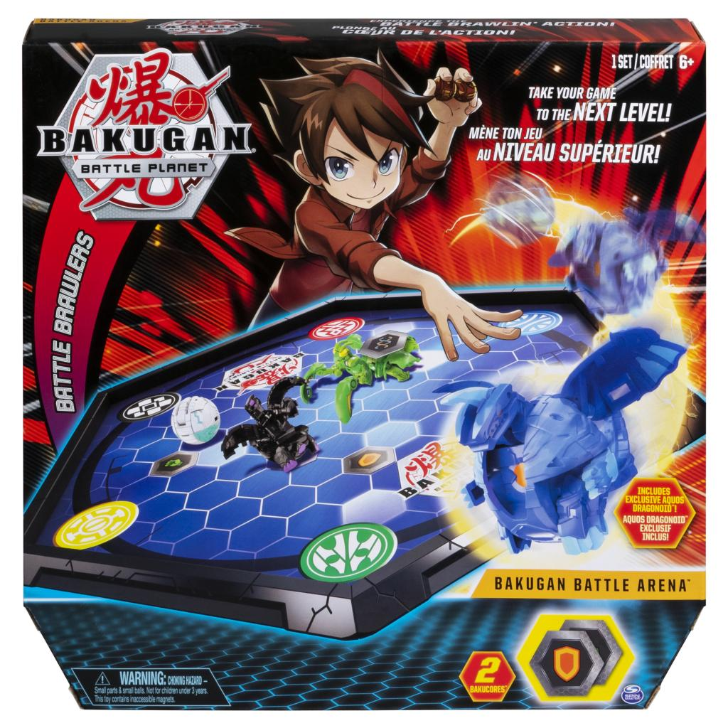 BAKUGAN BATTLE Planet DRAGONOID Bakucores Battle Brawlers NEW 2018