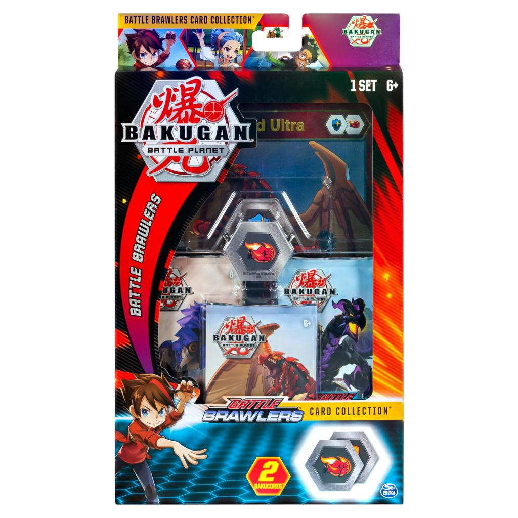 Bakugan Battle Planet 10 Card Booster Pack Battle Brawlers 3 Packs Game Trading
