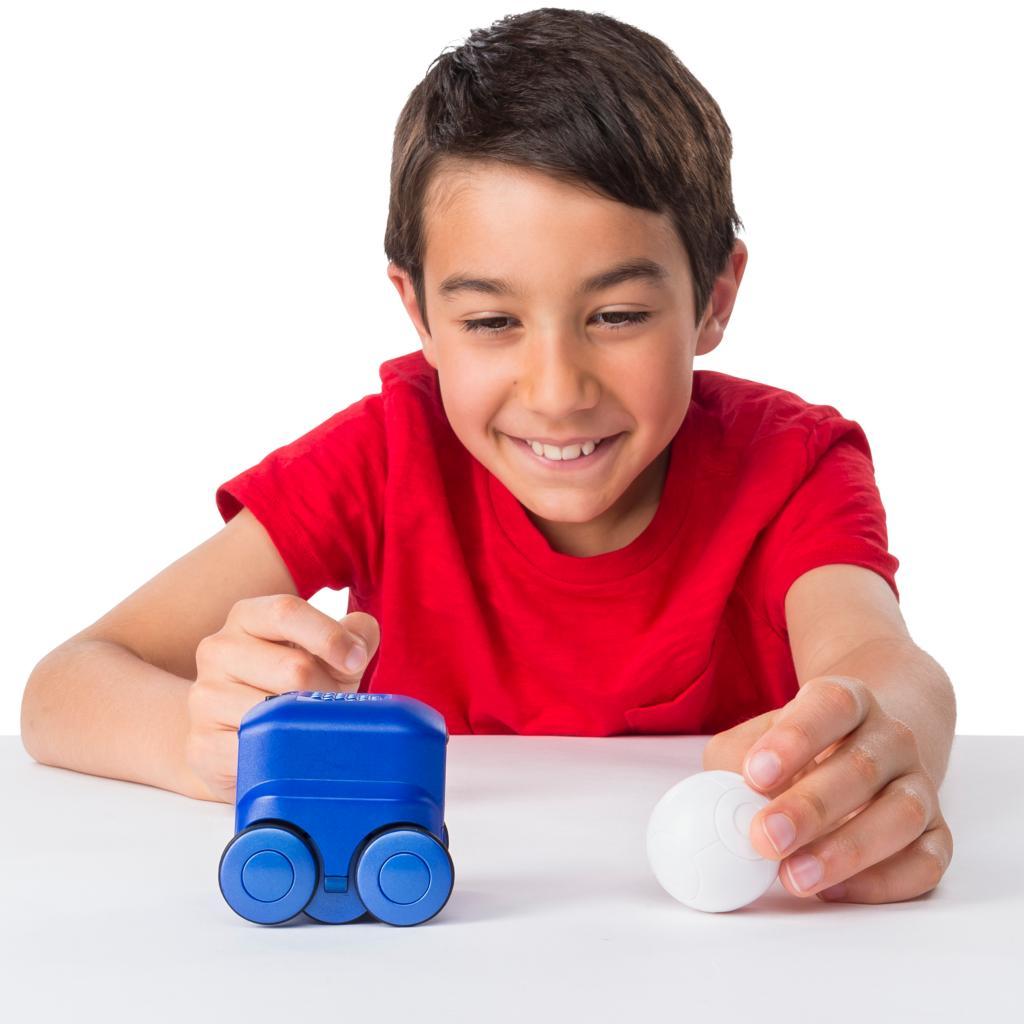 Spin Master - Boxer Boxer Interactive A I  Robot Toy (Blue)