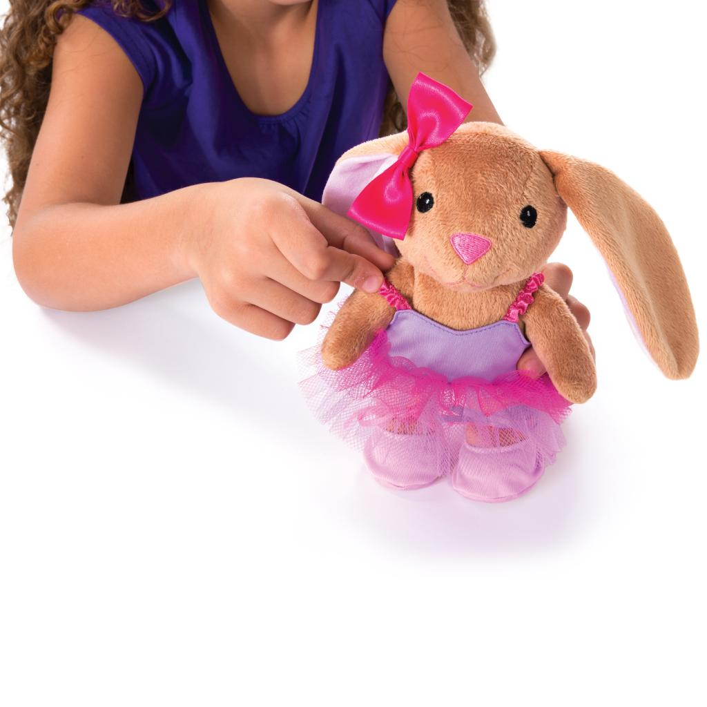Build A Bear Workshop Furry Fashions Ballerina Bunny