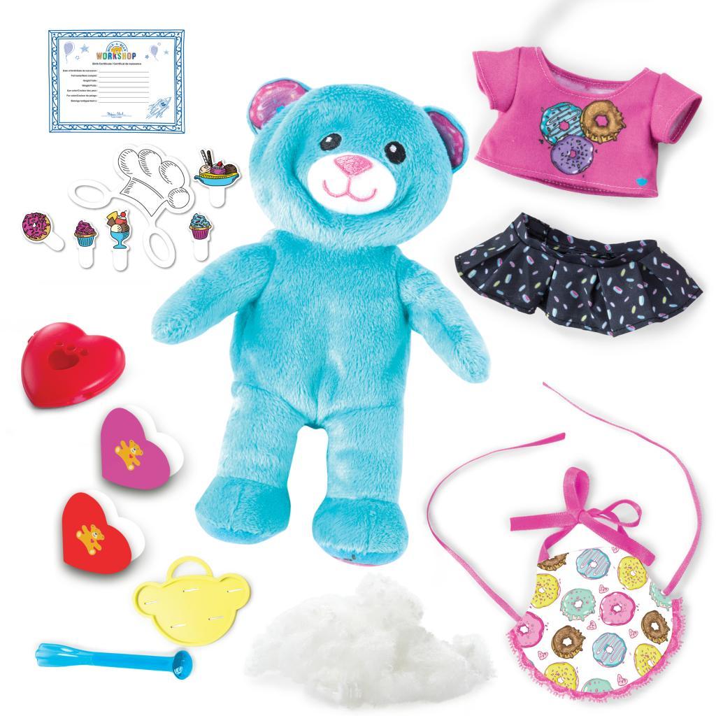 New Build-a-Bear Workshop Furry Fashions Sleepy Kitty Kit