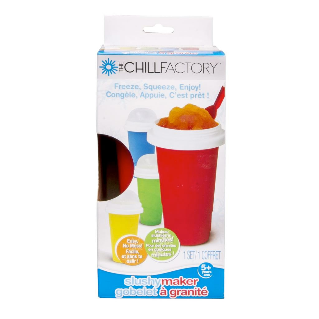 chill factor slushy cup instructions