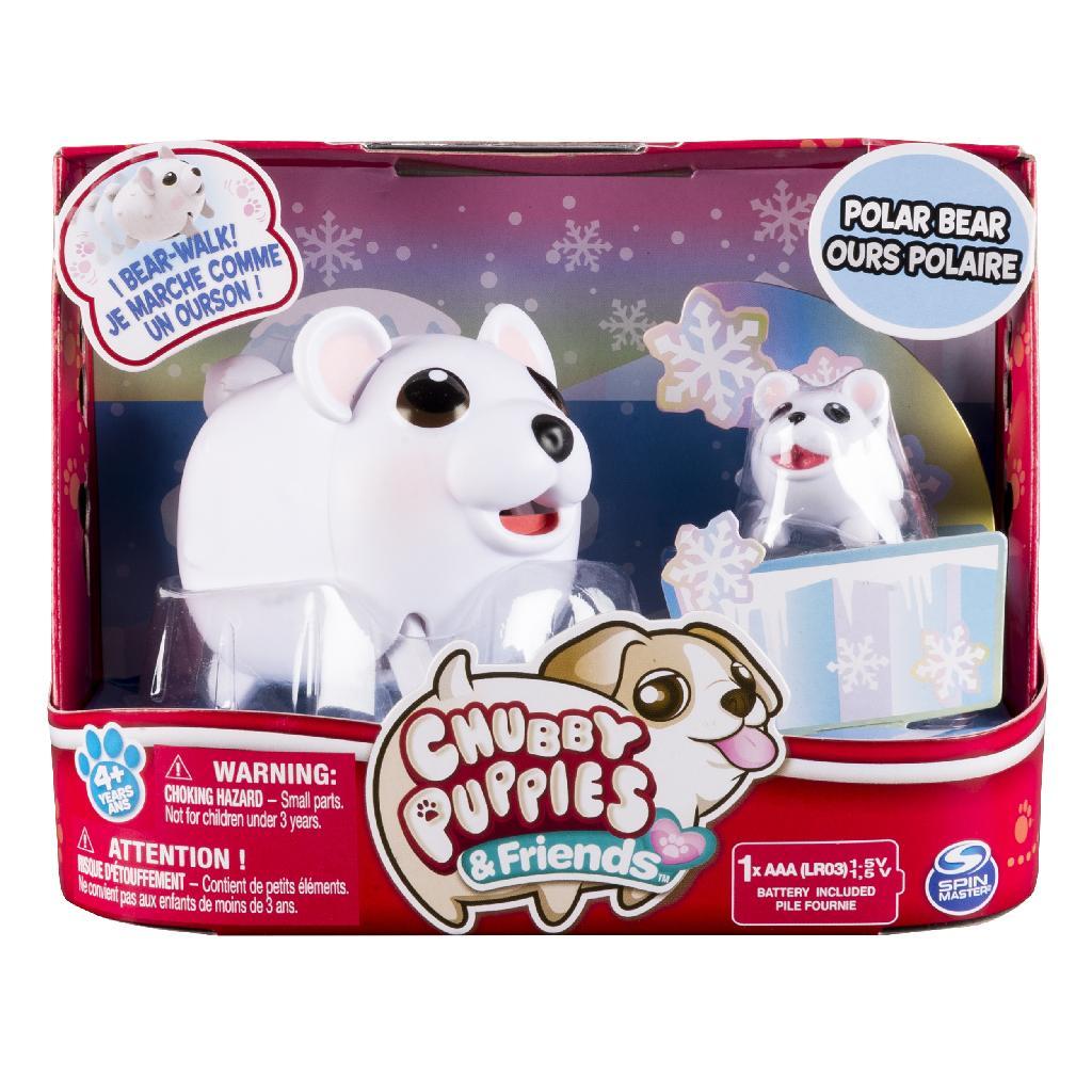 Spin Master Chubby Puppies Polar Bear