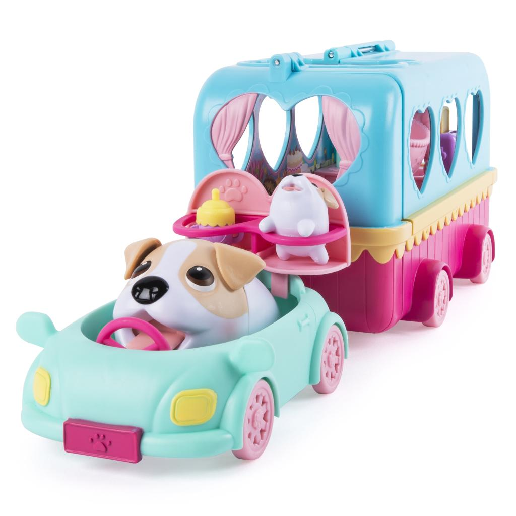 Spin Master - Chubby Puppies Vacation Camper Playset Jack Russell ...
