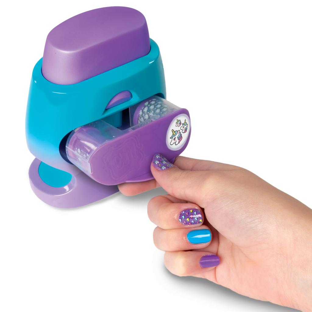 Spin Master Cool Maker Cool Maker Go Glam Nail Stamper Nail Studio With 5 Patterns To