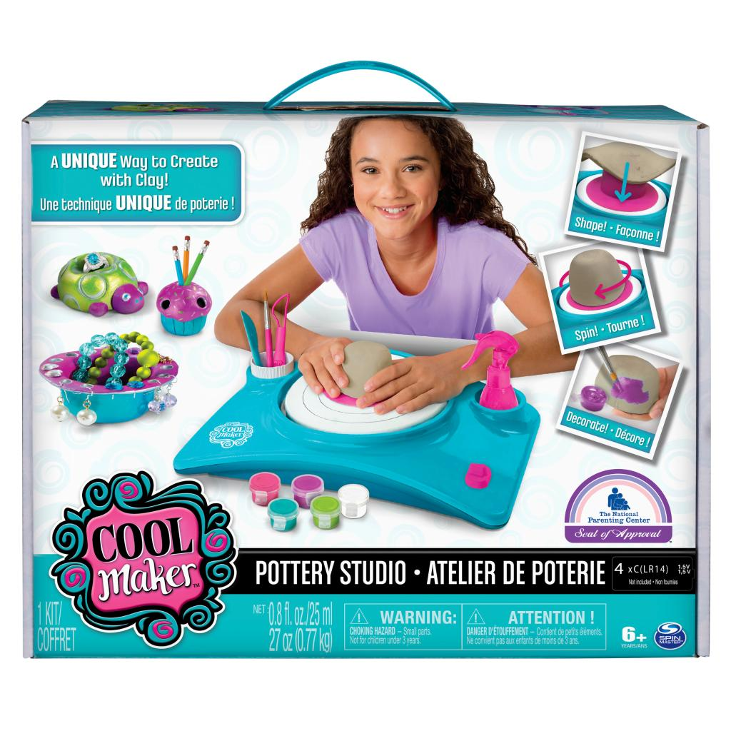 Spin master cool maker cool maker pottery studio for Cool pottery designs