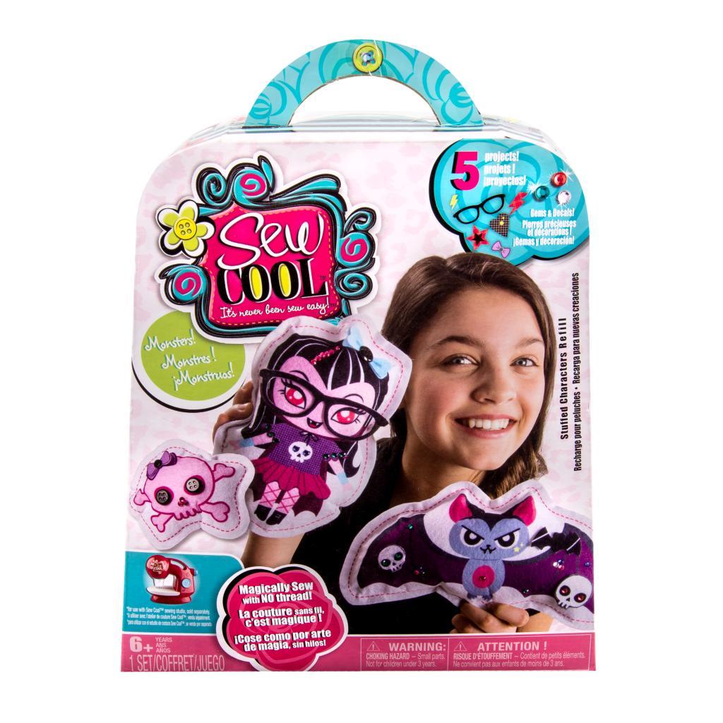 Pets Sew Cool Stuffed Characters 5 Project Kit