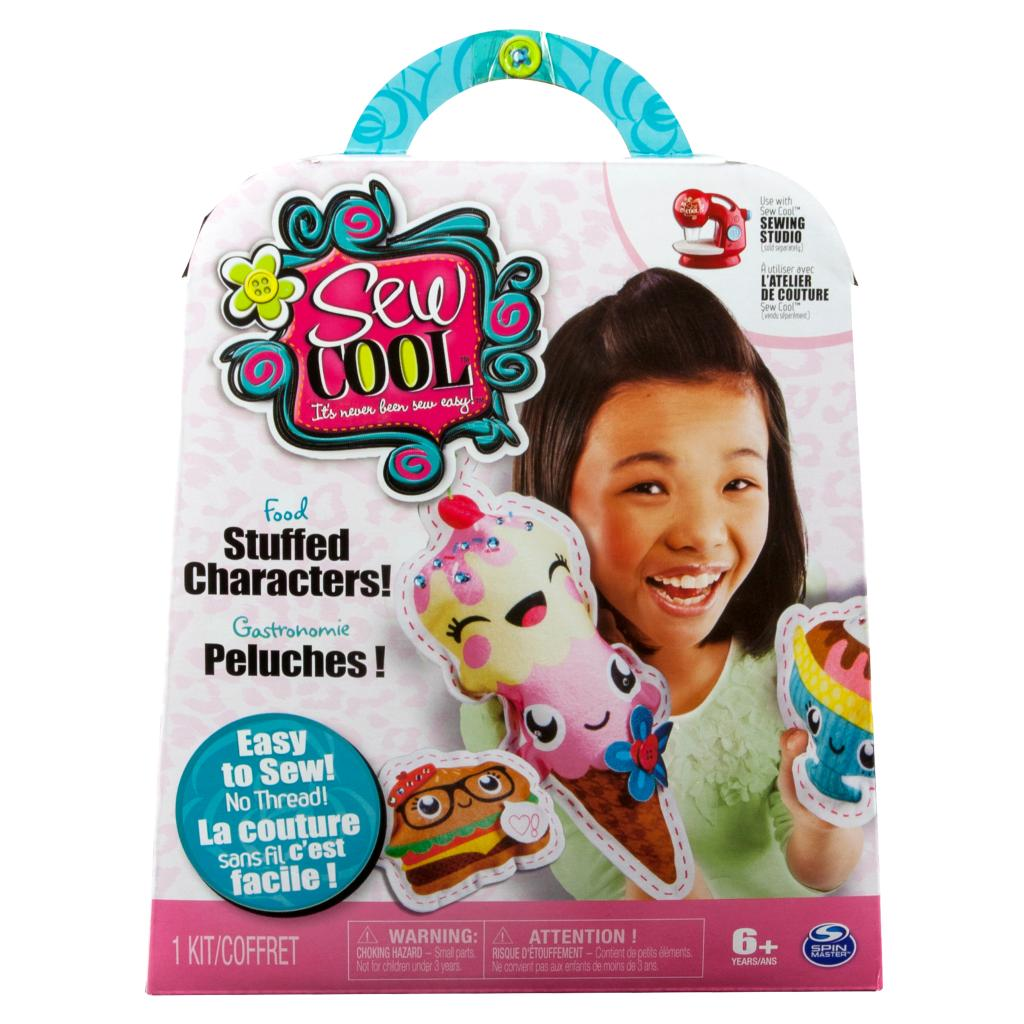 Spin Master Cool Maker Sew Cool Stuffed Characters 5 Project Kit