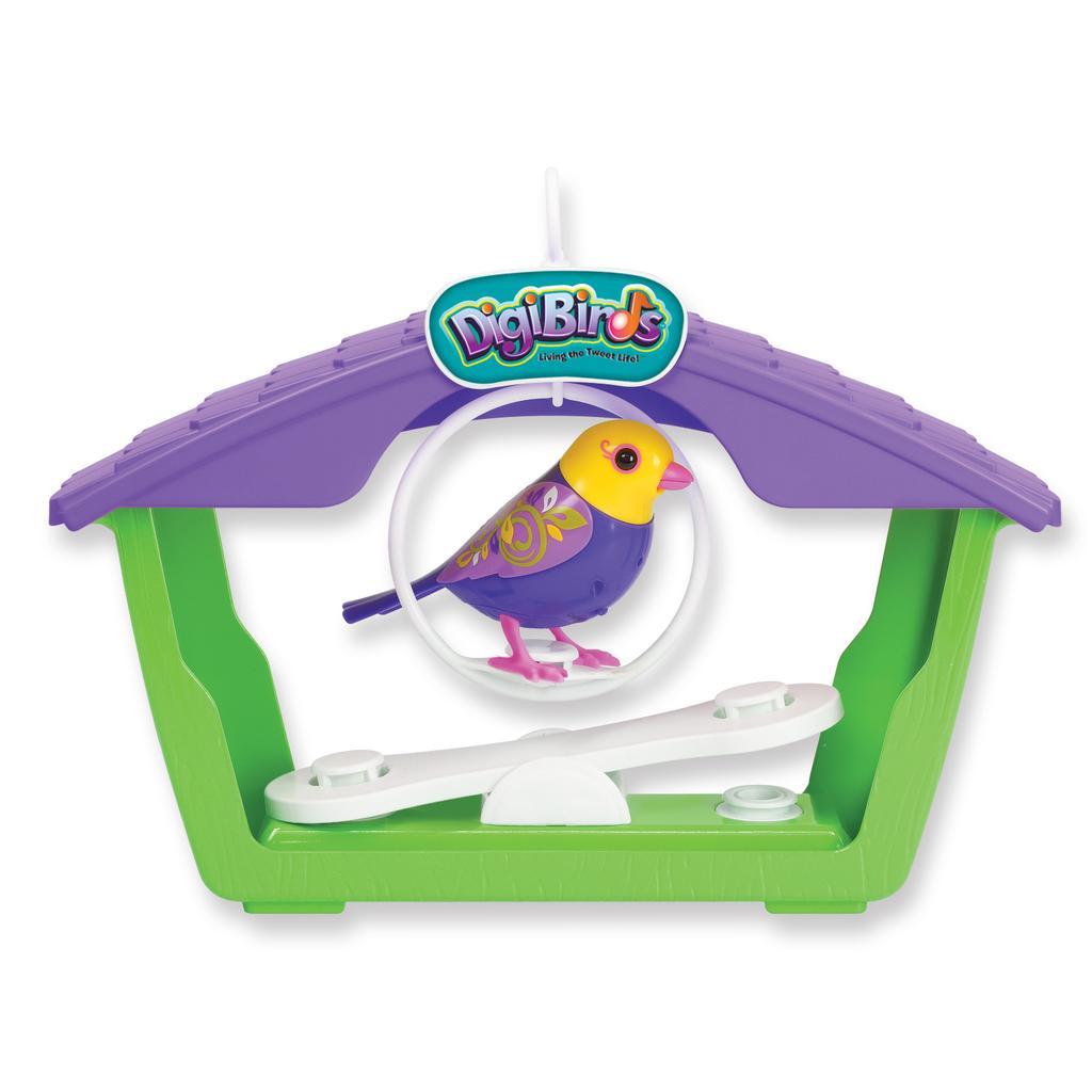 Walmart Toys Birds : Spin master digibirds digibirds™ bird with house livia