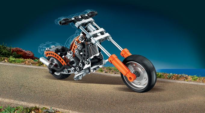 Evolution - Chopper Motorbike