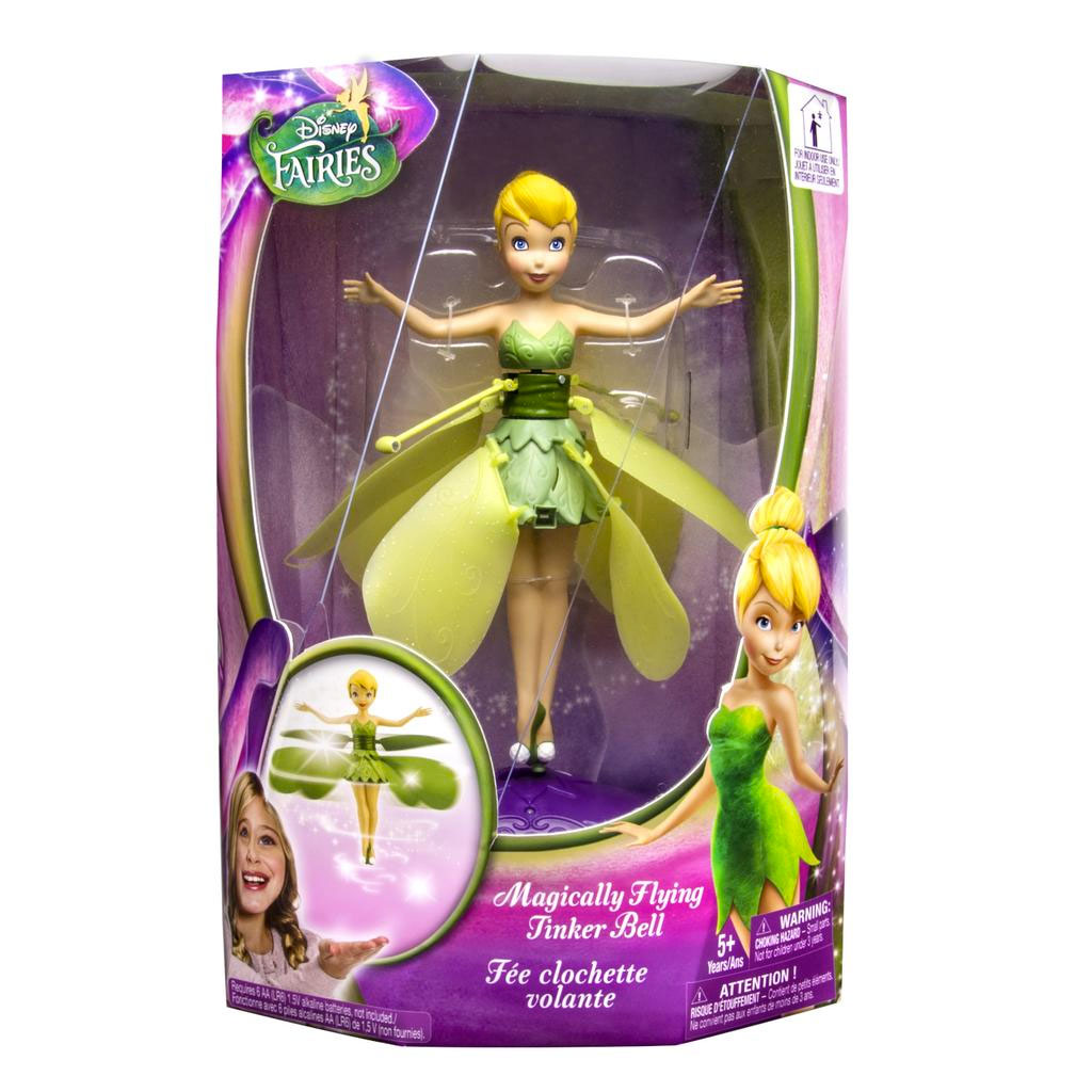 Spin Master Flutterbye Disney Magic Flying Tinkerbell Flutterbye Fairy