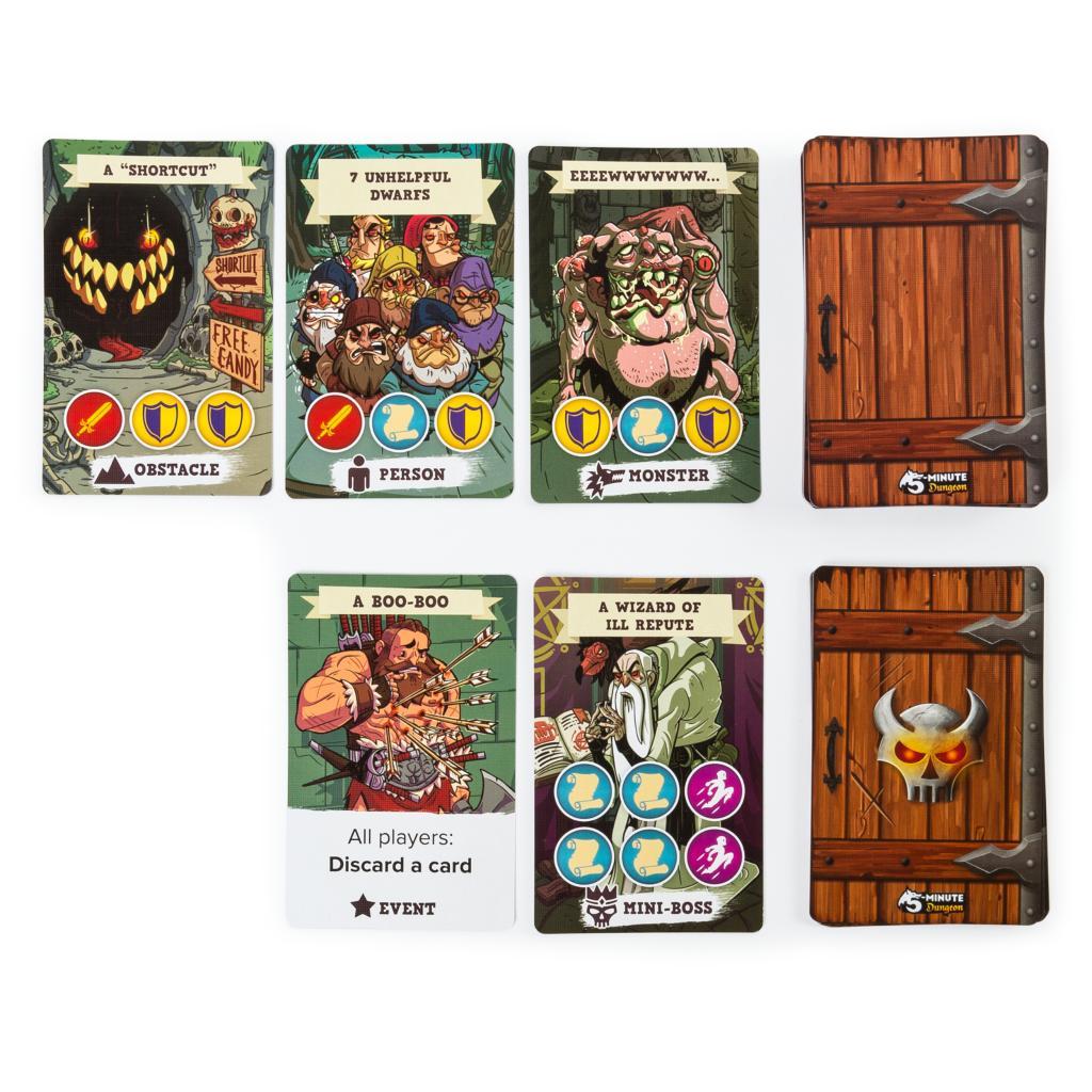 Jeu de cartes amusant de 5 minutes pour les enfants et les adultes-3008