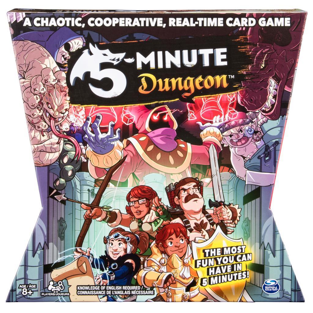 Spin Master - Jeux de Spin Master - Jeu de 5 minutes de donjon amusant-3805