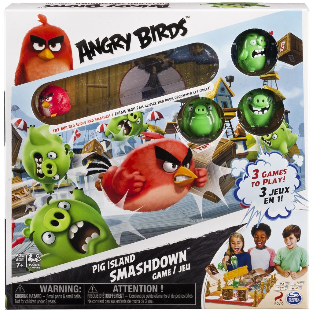 Spin Master - Spin Master Games Angry Birds Pig Island ...