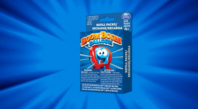 Boom Boom Balloon Refills Pack