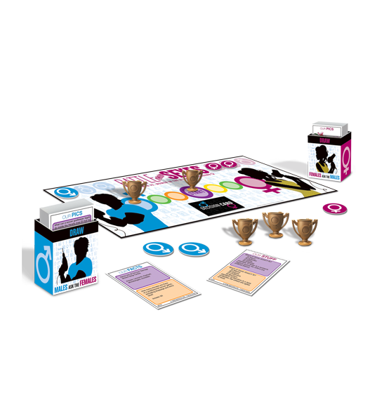 : University Games Game: Battle of the Sexes 'Blind Date' card game ...