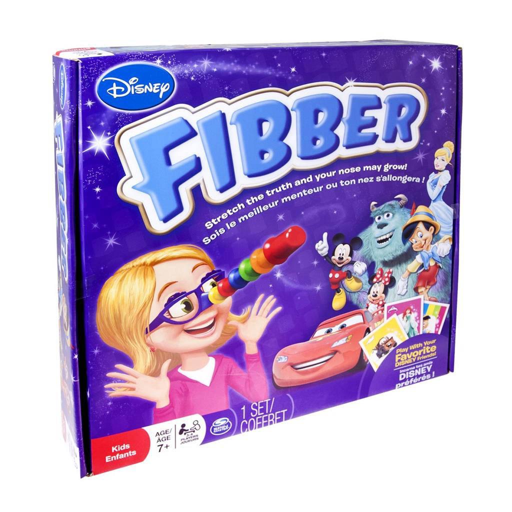 Disney Fibber Spin Master Games