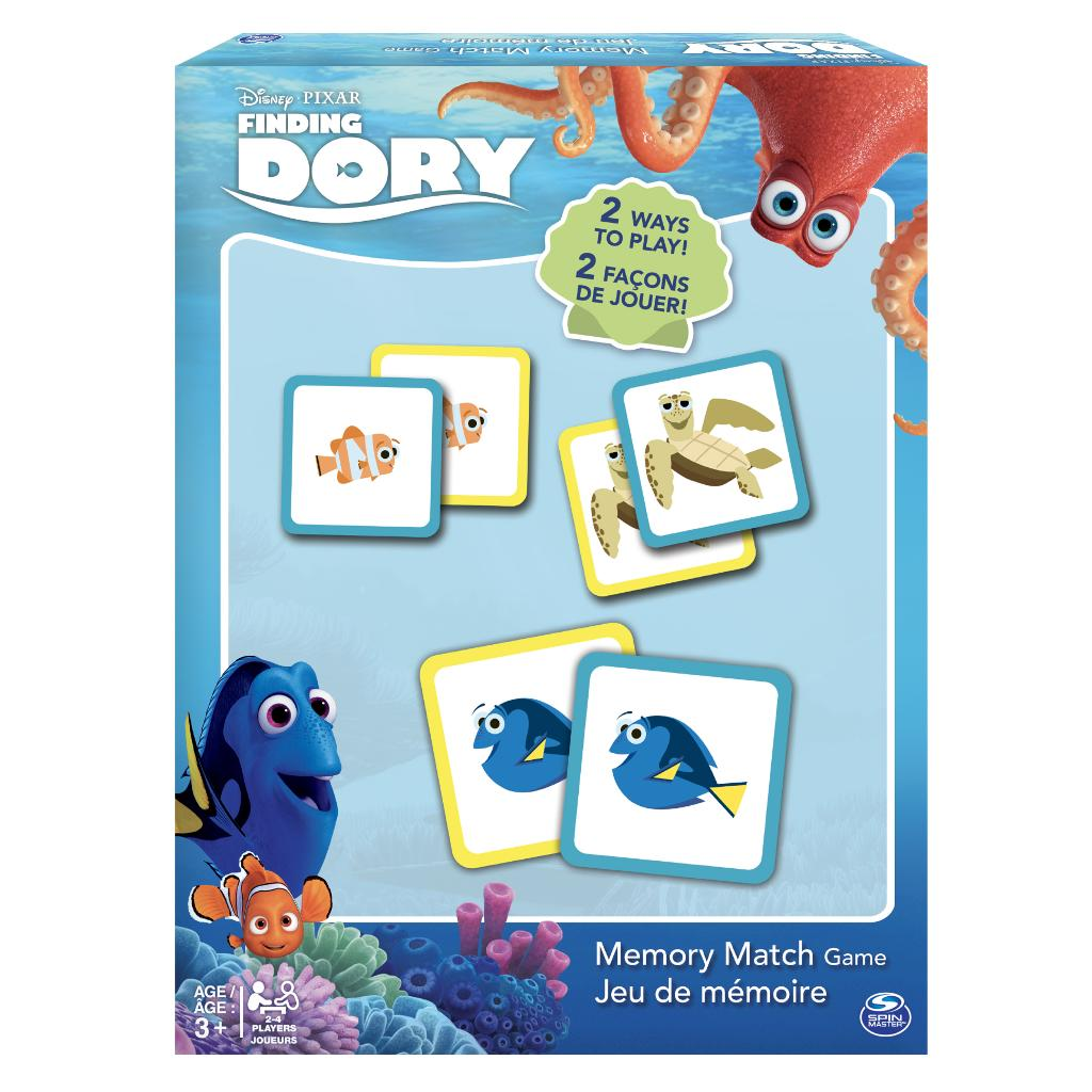 spin master spin master games finding dory memory match