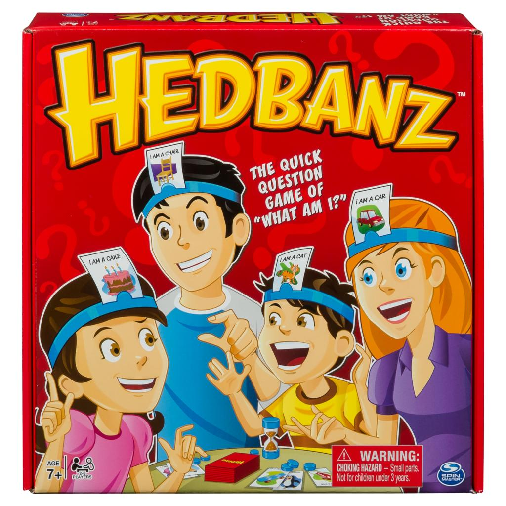 Spin master spin master games hedbanz guessing game for kids and can you handle the excitement of hedbanz play this goofy guessing game to find out solutioingenieria Images