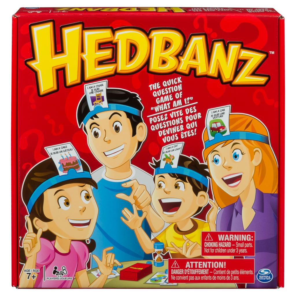 Spin master spin master games hedbanz guessing game for kids and features hedbanz solutioingenieria Choice Image