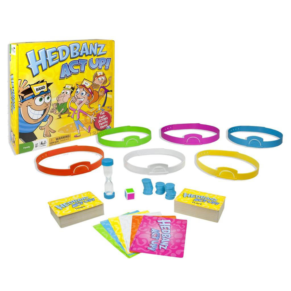 Spin master spin master games hedbanz act up hedbanz act up solutioingenieria Choice Image