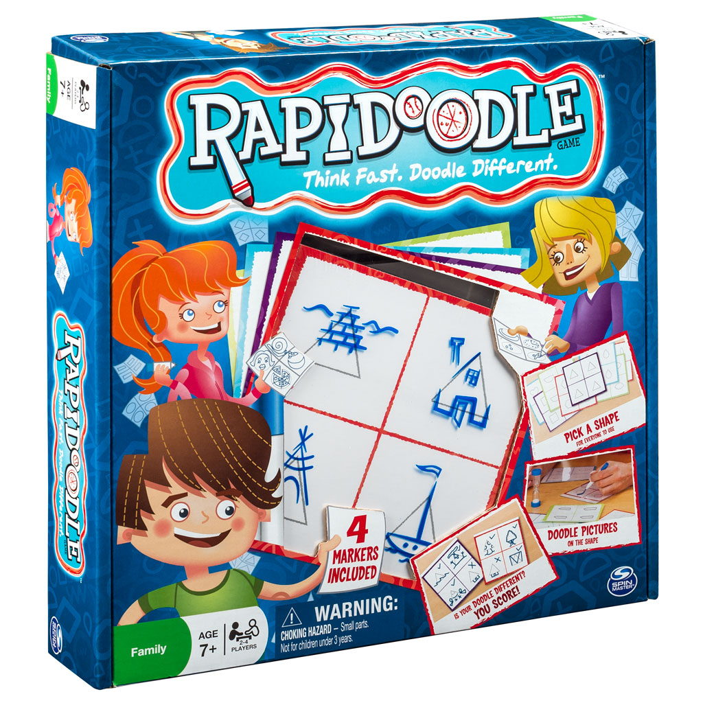 Spin Master - Spin Master Games Rapidoodle Board Game