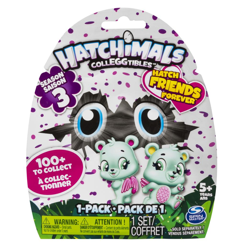 Hatchimals CollEGGtibles Season 3 – 1-Pack (Styles & Colors May Vary) by Spin Master