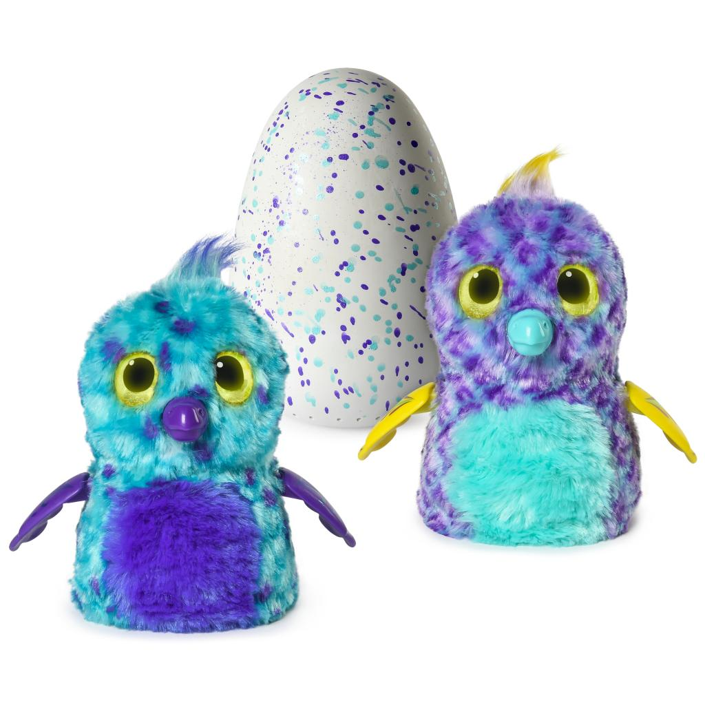 Hatchimals Fabula Forest – Hatching Egg with Interactive Puffatoo