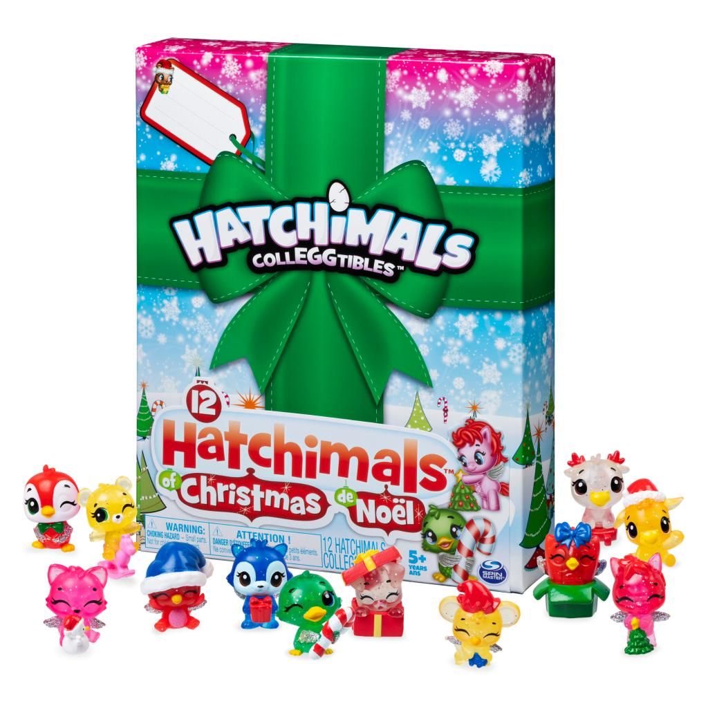 Hatchimals CollEGGtibles, 12 Hatchimals of Christmas Surprise Gift Set, for Kids Aged 5 and Up