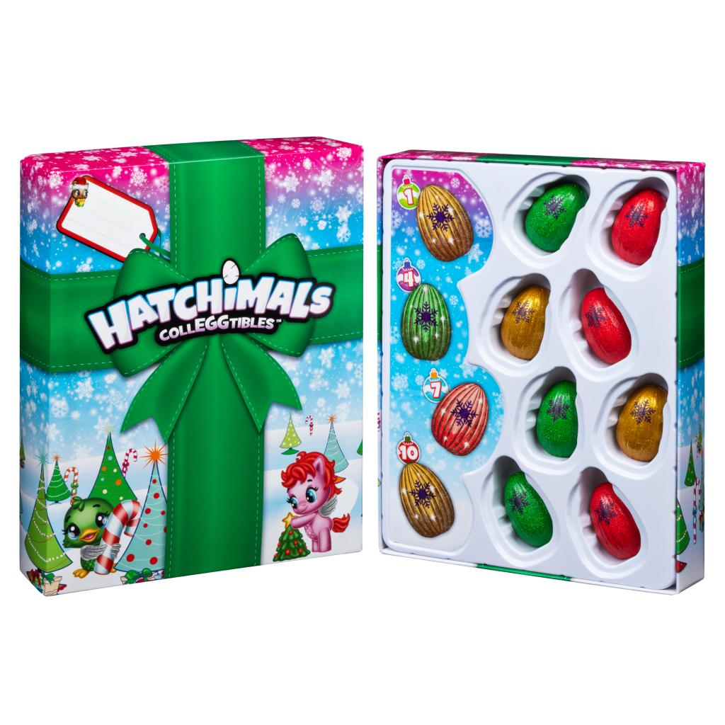 for Kids Aged 5 and Up Hatchimals CollEGGtibles 12 of Christmas Surprise Gift Set