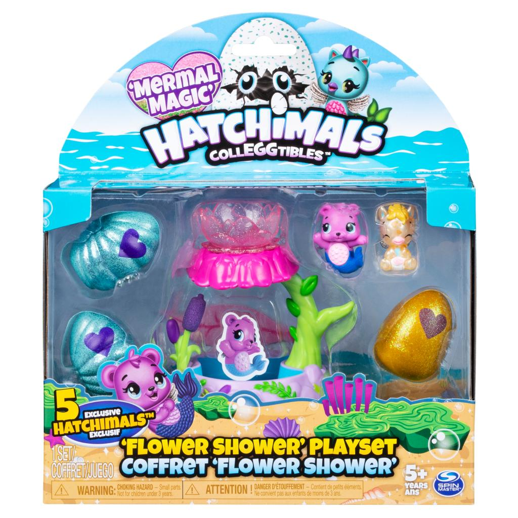 Hatchimals CollEGGtibles, Flower Shower Playset with Exclusive Hatchimals CollEGGtibles, for Kids Aged 5 and Up, Only at Kohl's