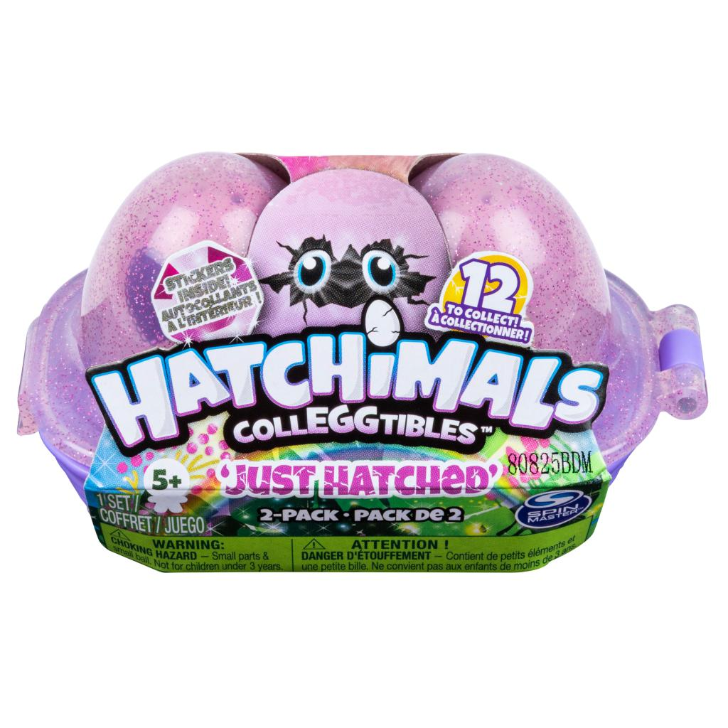 Hatchimals CollEGGtibles, Just Hatched 2 Pack Egg Carton, for Kids Aged 5 and Up, Only at Target (Styles May Vary)