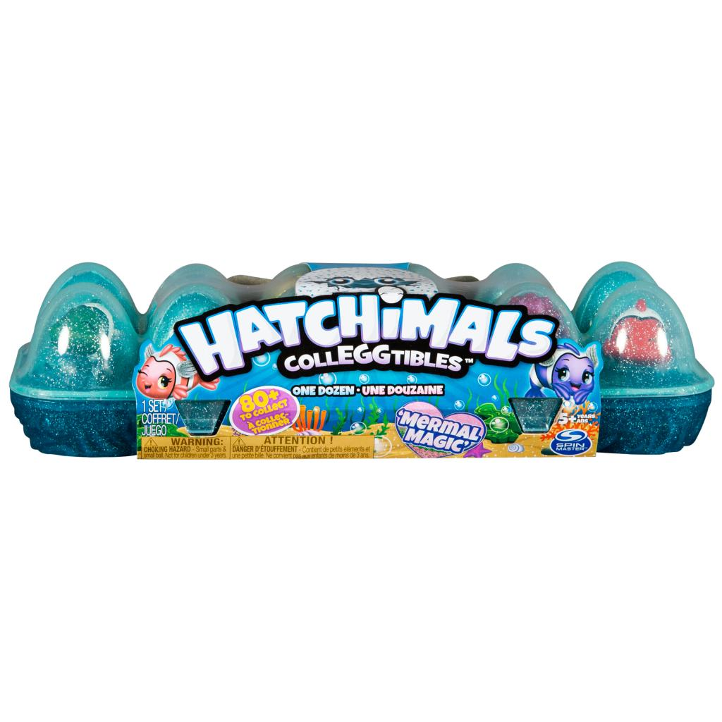 Hatchimals CollEGGtibles - Mermal Magic 12 Pack Egg Carton