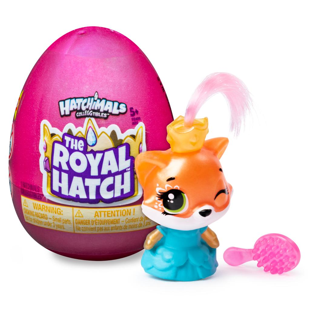 Hatchimals CollEGGtibles, Royal 1-Pack with Accessory, for Kids Aged 5 and Up (Styles May Vary)