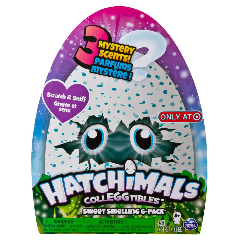 Hatchimals CollEGGtibles, Sweet Smelling 6 Pack, for Kids Aged 5 and Up, Only at Target (Styles May Vary)