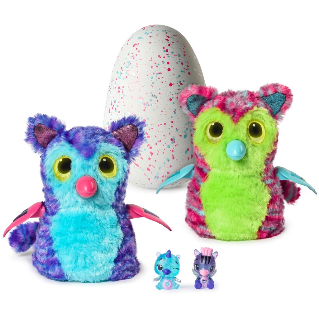 Hatchimals Fabula Forest - Interactive Tigrette with Two Bonus CollEGGtibles (Styles and Colors May Vary)