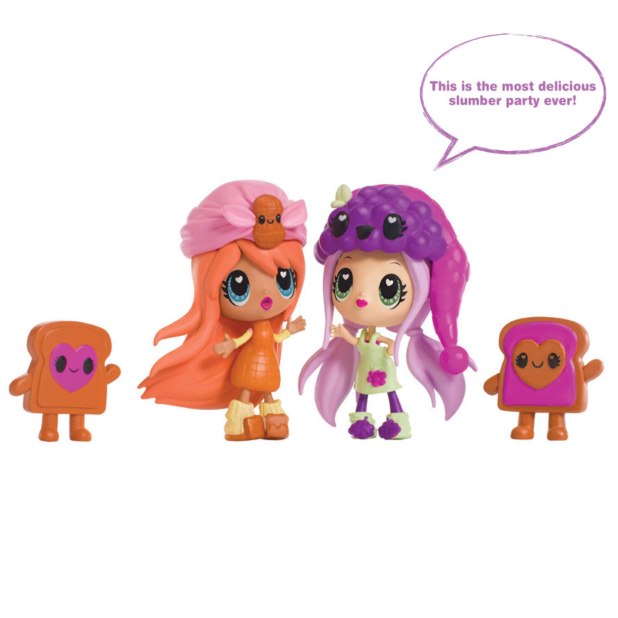 Spin Master Kawaii Crush Pb Amp J Slumber Party Pack