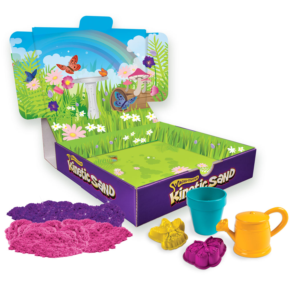 Etonnant ... Sand Easily Cleans Up While Delivering Non Stop Fun! It Never Dries Out  And Is Gluten Free. Feel The Difference With The Kinetic Sand Butterfly  Garden.
