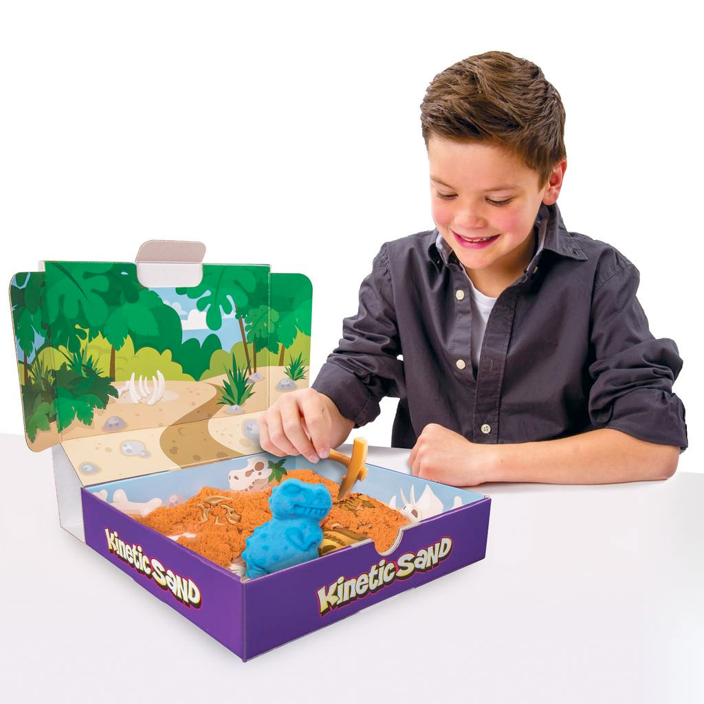 Kinetic Sand Kinetic Sand Dino Dig Playset - Spin Master