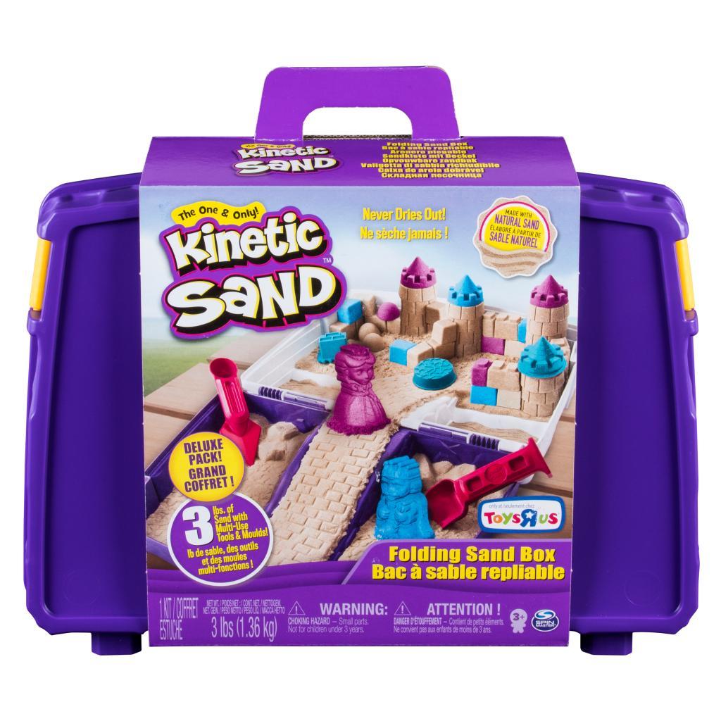 Spin Master Kinetic Sand Kinetic Sand Folding Sand Box