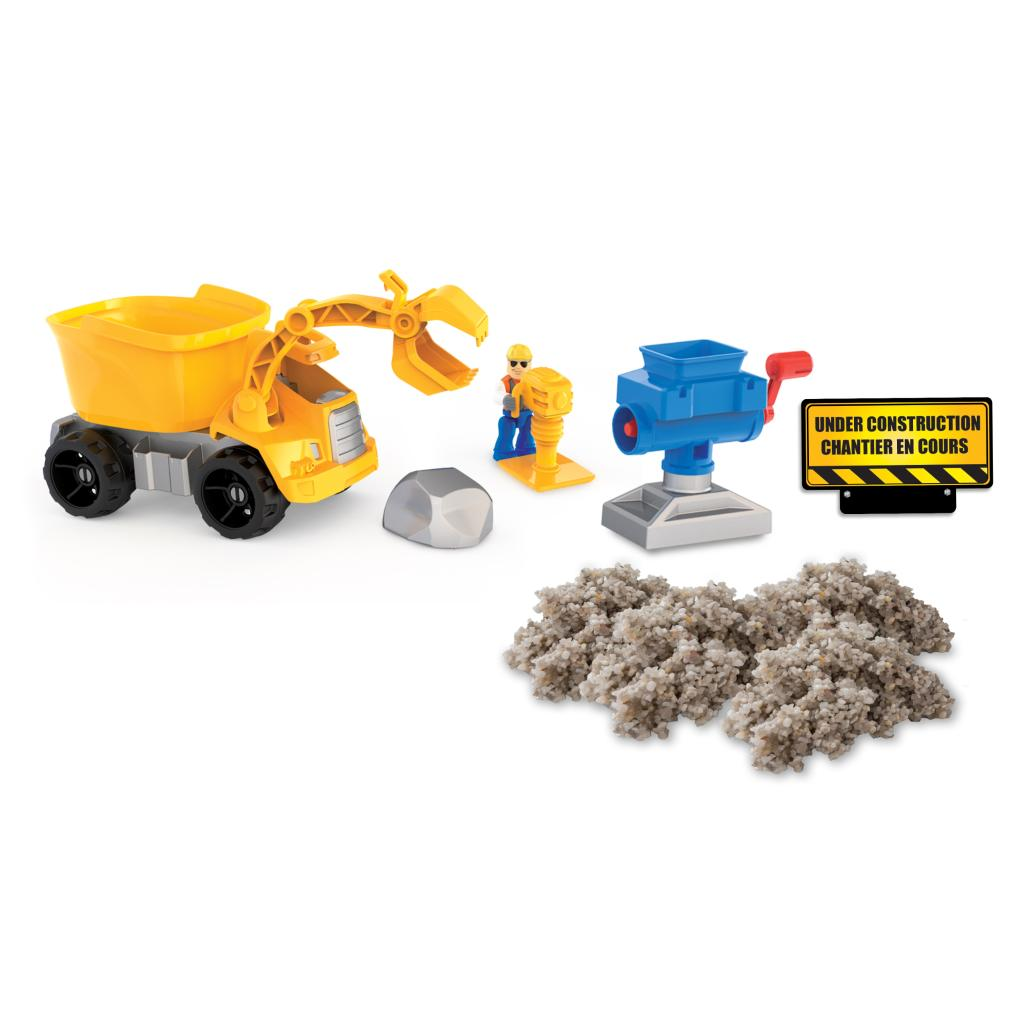 Spin Master Kinetic Sand Kinetic Rock Rock Crusher Playset