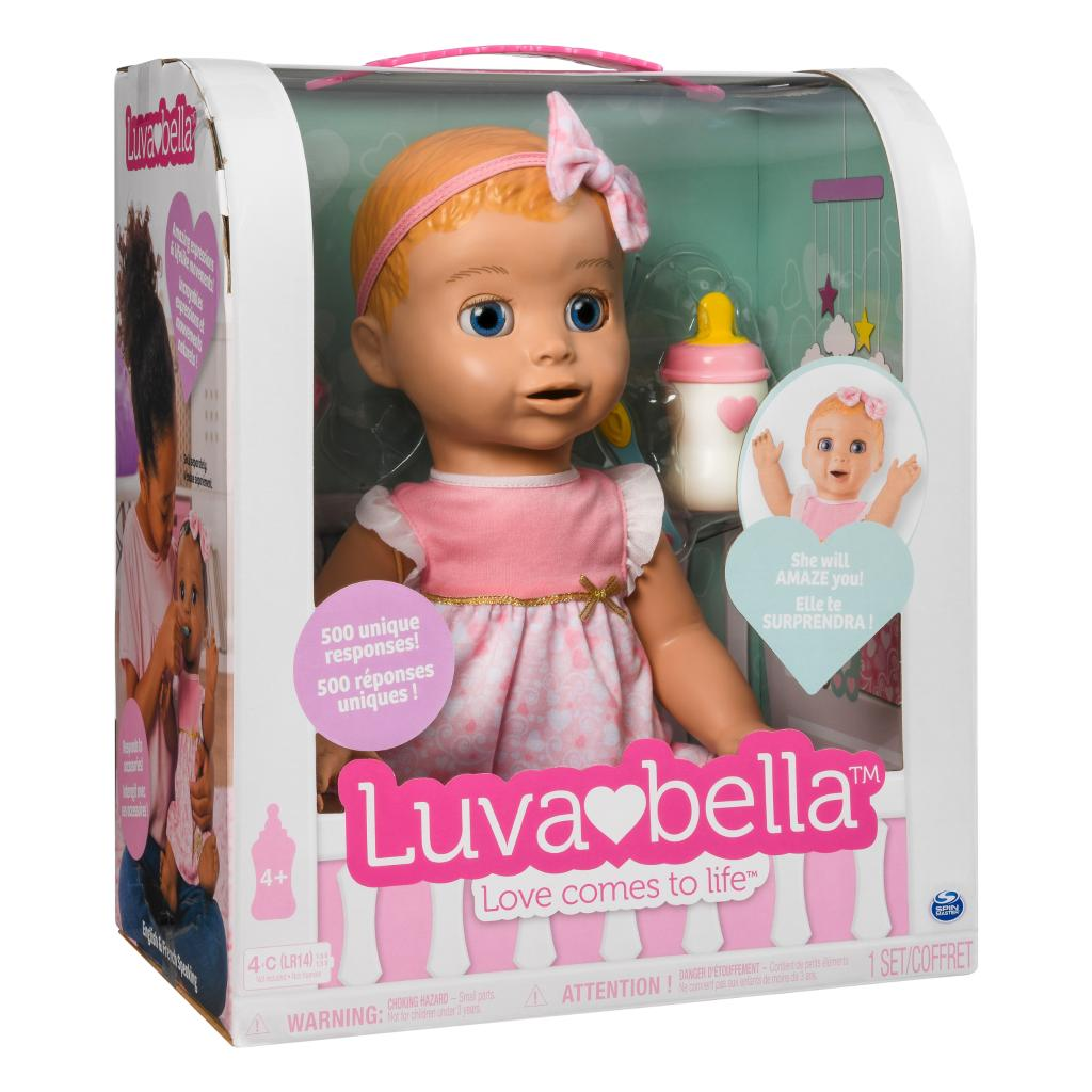 Spin Master Luvabella Luvabella Blonde Hair