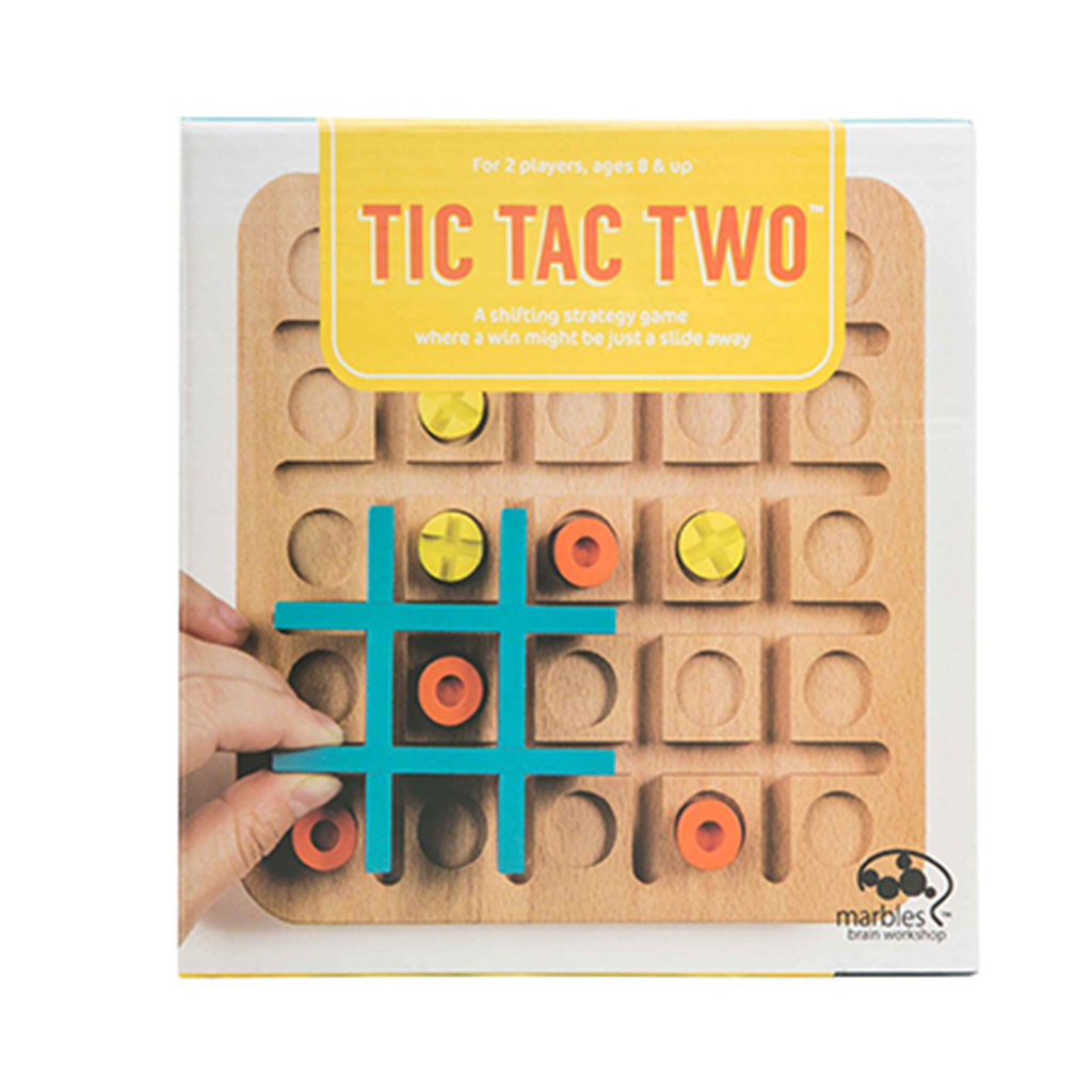 Marbles Tic Tac Two Wooden - Spin Master