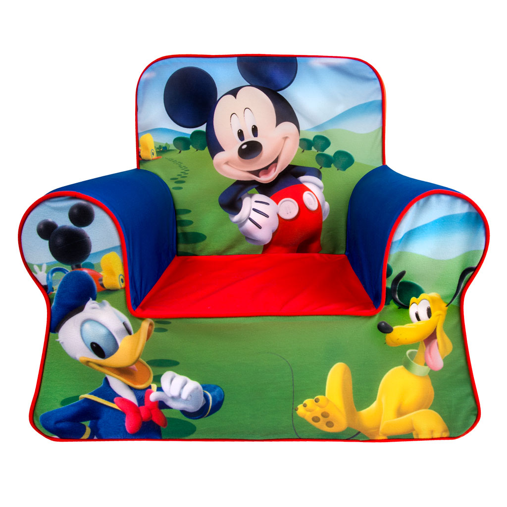 Bring your childu0027s favorite characters to life with the fun and comfortable line of Marshmallow Comfy Chairs!  sc 1 st  Spin Master & Spin Master - Marshmallow Furniture Marshmallow Comfy Chair Mickey Mouse