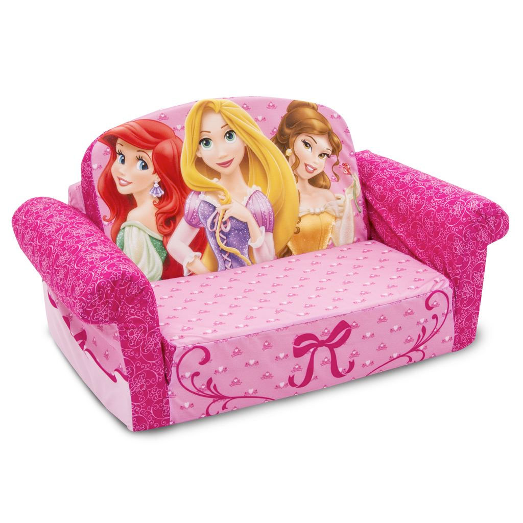 Spin Master Marshmallow Furniture Flip Open Sofa Disney Princess