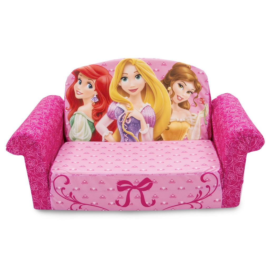 Marshmallow Furniture. Flip Open Sofa Disney Princess